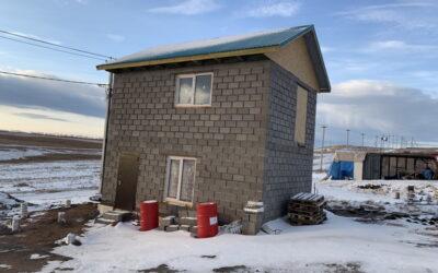 Комплект дома из теплоблоков 100 м2