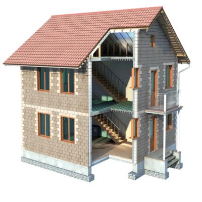 Комплекты домов из теплоблоков