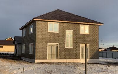Комплект дома из теплоблоков 250 м2