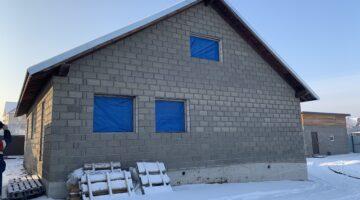 Малоэтажное строительство из теплоблоков — Коробка