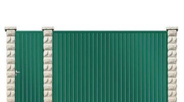 Ворота откатные металлические