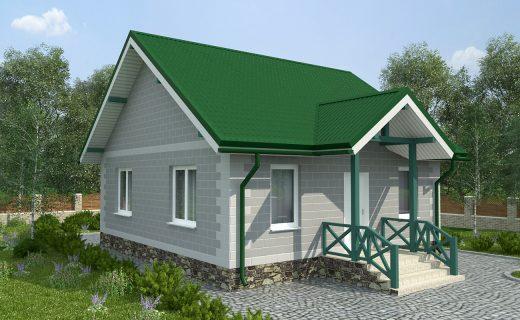 Построим для Вас такой дом площадью 60 м2