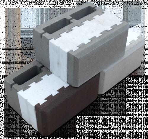 Теплоблок с фаской; размер 20х30х40